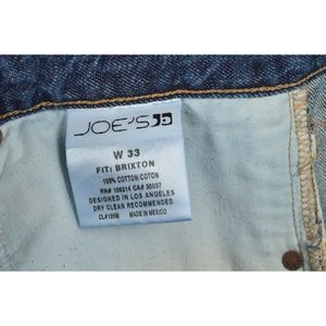 Joe's Jeans Jeans - Joe's Jeans men 33 x 31 Brixton distressed medium